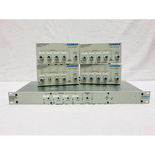 used furman hds 6 distribution system w 4 hr 6 mixers headphone amp guitar center. Black Bedroom Furniture Sets. Home Design Ideas