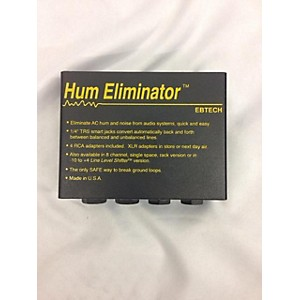 Pre-owned Ebtech HE-2 Hum Eliminator Noise Gate