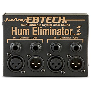 Ebtech HE-2-XLR Hum Eliminator with XLR by Ebtech