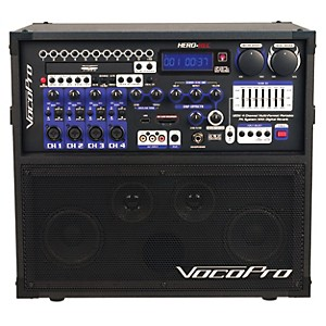 VocoPro HERO-REC Multi-Format Portable P.A. Karaoke System w/ Digital Recor... by VocoPro