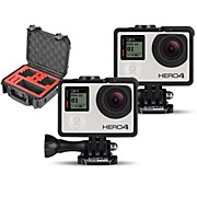 GoPro HERO4 Black - Music Pair with Double Case