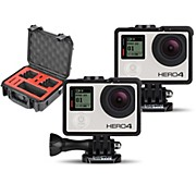 GoPro HERO4 Silver - Music Pair with Double Case