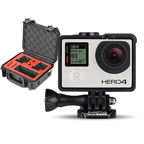 GoPro HERO4 Silver - Music with Double Case-thumbnail