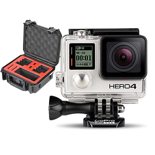 GoPro HERO4 Silver - Standard with Double Case-thumbnail