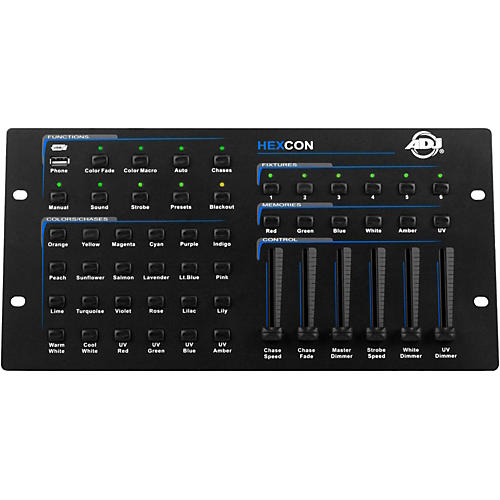 American DJ HEXCON 36-Channel DMX Controller-thumbnail