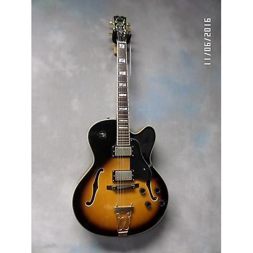 Samick HF650 Hollow Body Electric Guitar 2 Color Sunburst