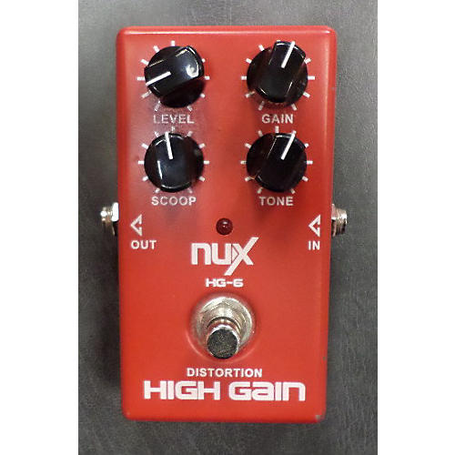 In Store Used HG-6 Effect Pedal