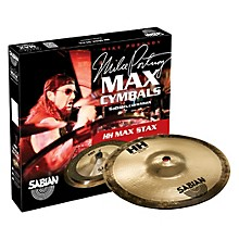 Sabian HH High Max Stax Cymbal Pack Brilliant Finish