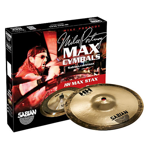 Sabian HH High Max Stax Cymbal Pack Brilliant Finish 8 in. Kang, 8 in. Splash Brilliant