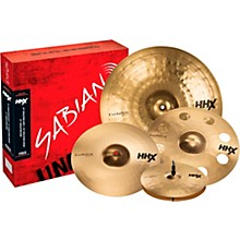 "Sabian HHX Evolution Cymbal Set with Free 18"" Ozone Crash"