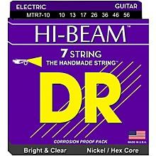 DR Strings HI-BEAM Nickel Plated 7-String Electric Guitar Strings Medium (10-56)