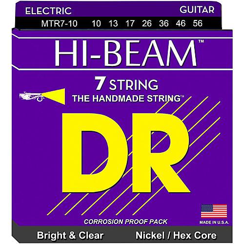 DR Strings HI-BEAM Nickel Plated 7-String Electric Guitar Strings Medium (10-56)-thumbnail