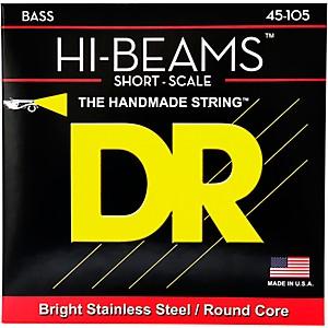 DR Strings HI BEAMS Short Scale 4 String Bass Medium 45-105 by DR Strings