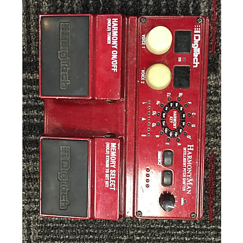 Digitech HM2 HarmonyMan Intelligent Pitch Shifter Effect Pedal-thumbnail