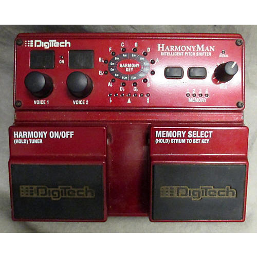 Digitech HM2 HarmonyMan Intelligent Pitch Shifter Effect Pedal-thumbnail