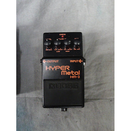 Boss HM3 Hyper Metal Effect Pedal