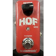 TC Electronic HOF MINI Effect Pedal