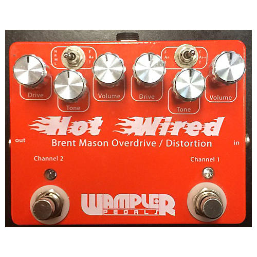 Wampler HOT WIRED Effect Pedal-thumbnail