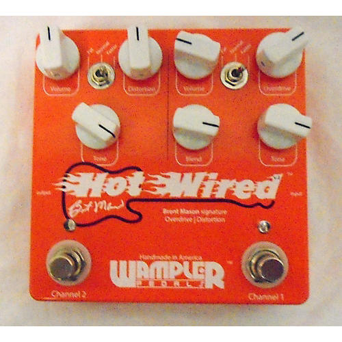 Wampler HOT WIRED V.2 Effect Pedal