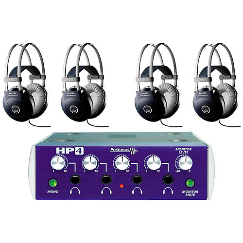 PreSonus HP4 and M80 MKII Headphone Package (4-pack)-thumbnail