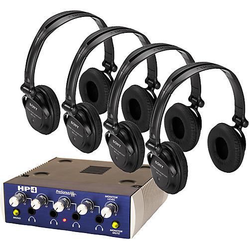 Presonus HP4 with 4 Free Sony Headphones