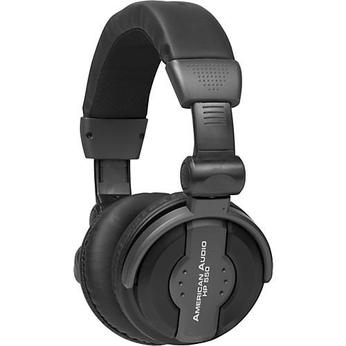 American Audio HP550 Professional Studio Headphones Black
