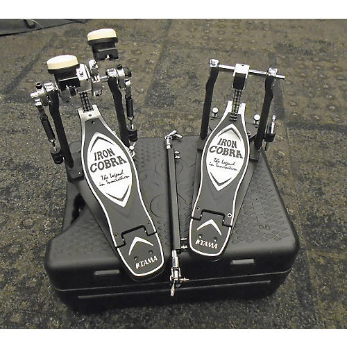 used tama hp900pswn iron cobra double bd pedal double bass drum pedal guitar center. Black Bedroom Furniture Sets. Home Design Ideas
