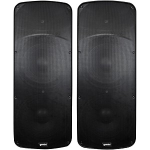 Gemini HPS-215BLU Dual 15 D-Class Powered Speaker Pair by Gemini