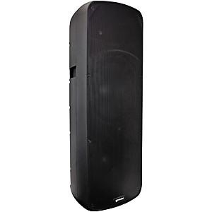 Gemini HPS-215BLU Dual 15 inch D-Class Powered Speaker with Bluetooth by Gemini