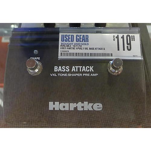 Hartke HPVXL1 VXL Bass Attack & Direct Box Bass Effect Pedal-thumbnail
