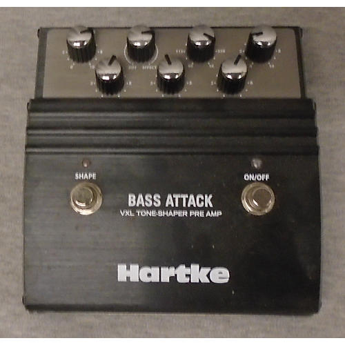 used hartke hpvxl1 vxl bass attack direct box bass effect pedal guitar center. Black Bedroom Furniture Sets. Home Design Ideas