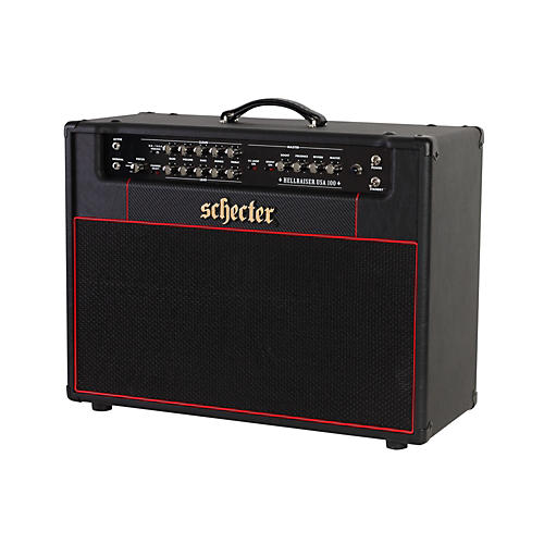 Schecter Guitar Research HR100-C212E HR Stage 100 100W 2x12 Tube Guitar Combo Amp Black