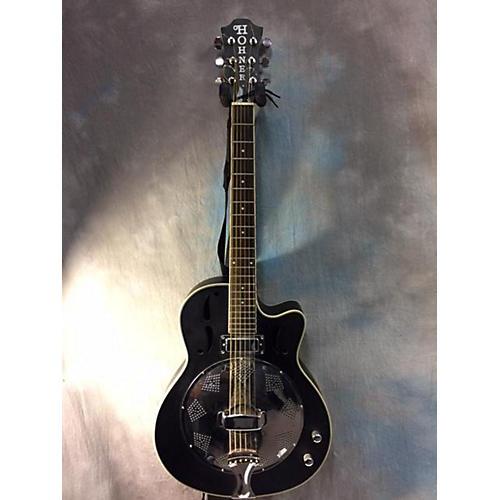 Hohner HR200 CE Resonator Guitar-thumbnail