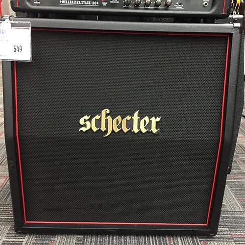 Schecter Guitar Research HR412-SL Hellraiser USA 4X12 Slant Guitar Cabinet