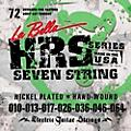 LaBella HRS-72 7-String Electric Guitar Strings-thumbnail