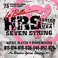 LaBella HRS-75 7-String Electric Guitar Strings thumbnail
