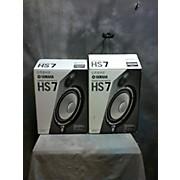 Yamaha HS7 Pair Powered Monitor