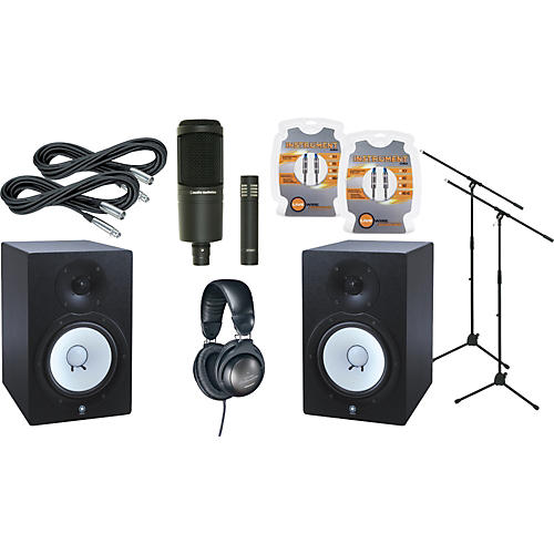 Yamaha HS80M Monitor & A/T Mic Package