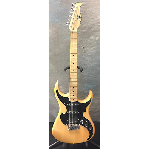 AXL HSS Solid Body Solid Body Electric Guitar Natural and Black