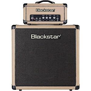 Blackstar HT-1R Mini Stack 1W Tube Guitar Head with HT-112 1x12 Speaker Cab... by Blackstar