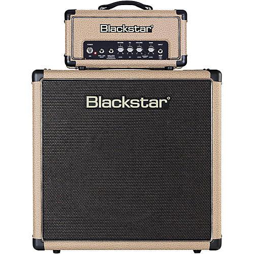 Blackstar HT-1R Mini Stack 1W Tube Guitar Head with HT-112 1x12 Speaker Cabinet