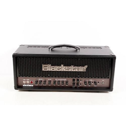 Blackstar HT Metal Series HTMETAL100H 100W Tube Guitar Head with Reverb Black 888365369822