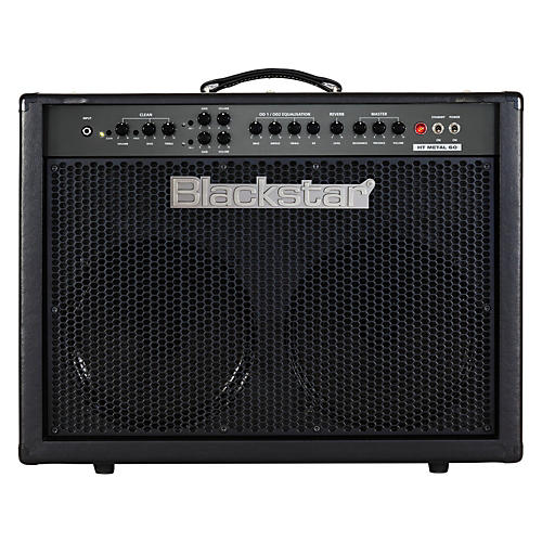 Blackstar HT Metal Series HTMETAL60C 60W 2x12 Tube Guitar Combo w/Reverb Black