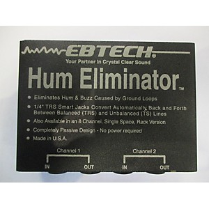 Pre-owned Ebtech HUM ELIMINATOR Exciter by Ebtech
