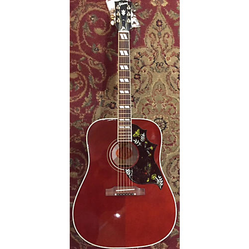 Gibson HUMMINGBIRD CUSTOM ACOUSTIC ELECTRIC G Acoustic Guitar-thumbnail