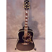 Gibson HUMMINGBIRD EBONY Acoustic Electric Guitar
