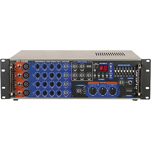 VocoPro HV-1200RV 4-Channel Powered Mixer