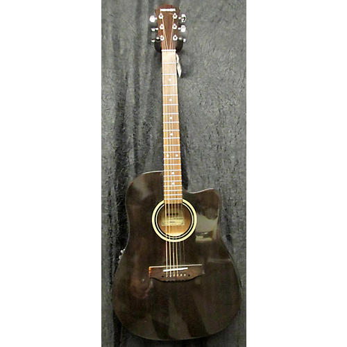 Hohner HW300CE TBK Acoustic Electric Guitar