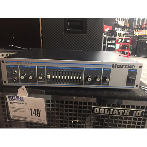 Hartke Ha2500 Bass Amp Head