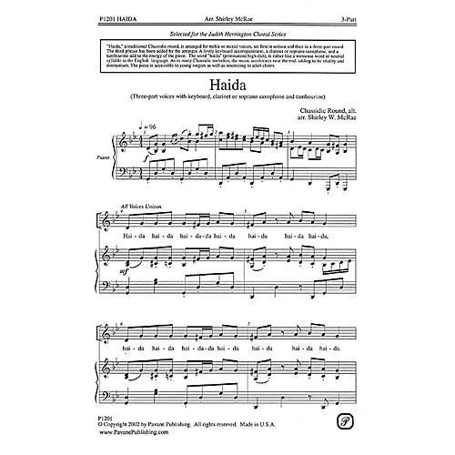 Pavane Haida 3 Part arranged by Shirley W. McRae